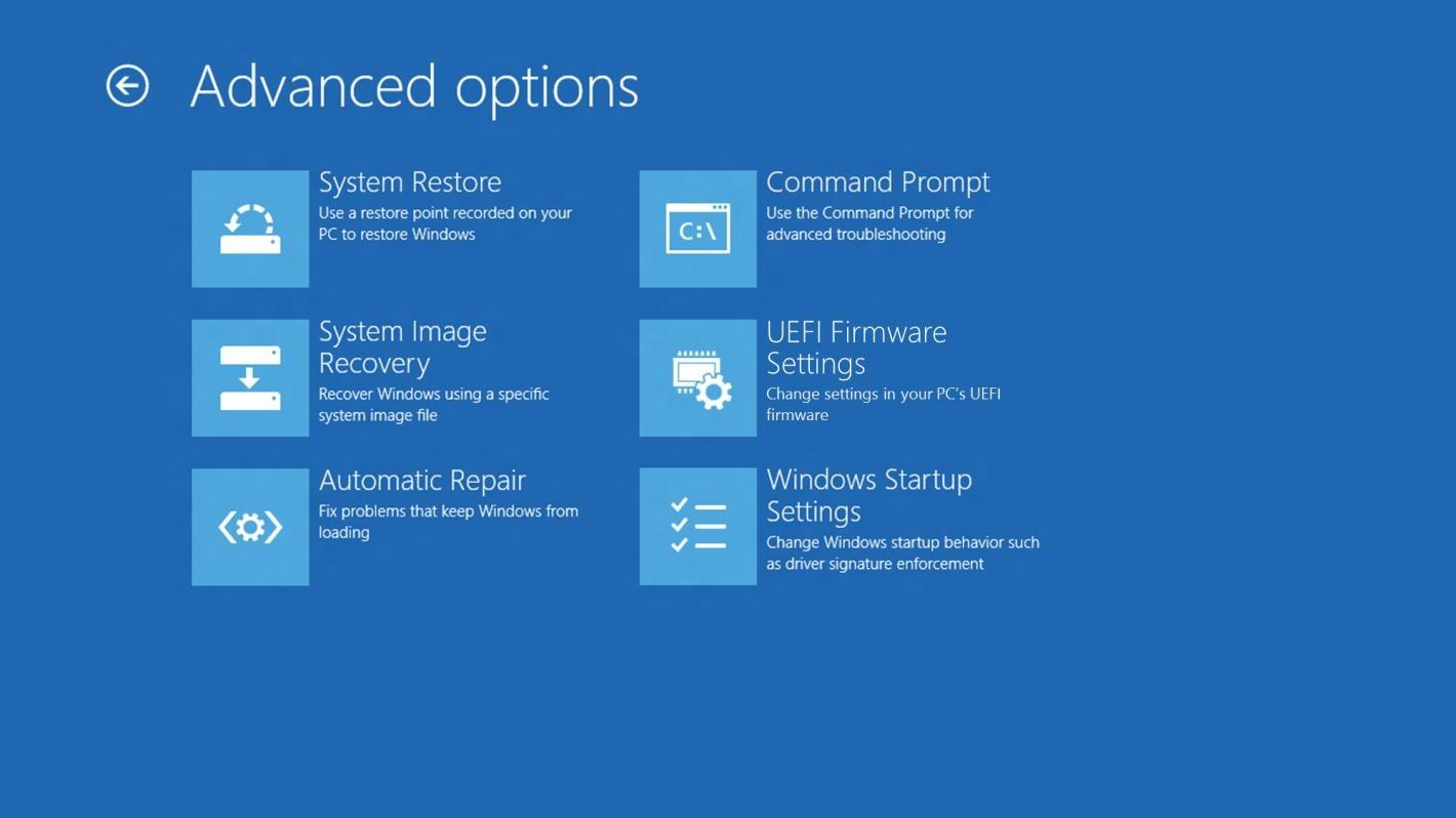 UEFI options 3