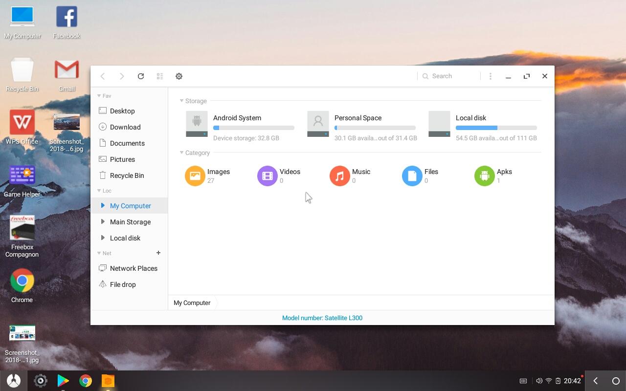 Phoenix OS - Installer Android sur PC