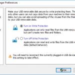 USB Disk Manager - Fin du virus raccourcis